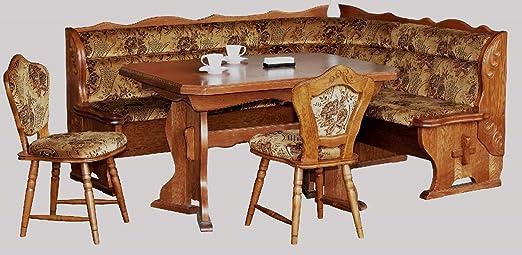 4 - 4 - 3-2184: en esquina para cocina banco, extraíble mesa, 2 ...