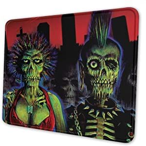 Return of The Living Dead Mouse Pad Rectangle Non-Slip Rubber Mousepad Office Accessories Desk Decor Mouse Pads for Computers Laptop Multi-Code 10 x 12 inch