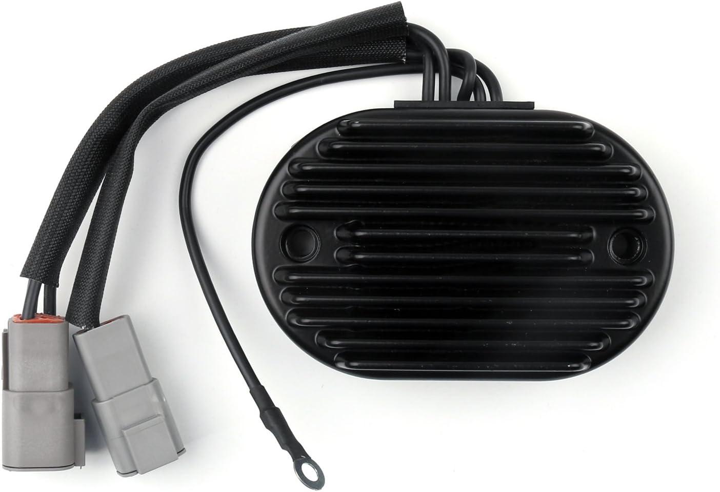 Artudatech Motorrad Spannungsregler Motorrad Spannungsregler Gleichrichter Für Harley Davidson Fatboy Softail Custom Deluxe Deuce Auto