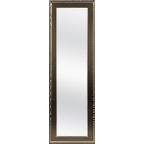 Amazon.com: Aromzen - Espejo para puerta (bronce, 16.9 x ...