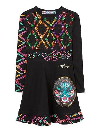 58abd822853 Desigual Uagagudu Robe Fille  Amazon.fr  Vêtements et accessoires