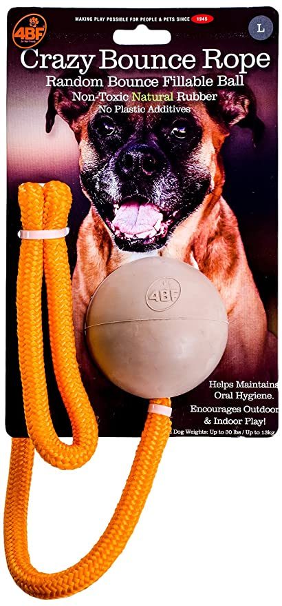 Crazy Bounce Rope Natural Large Dogs