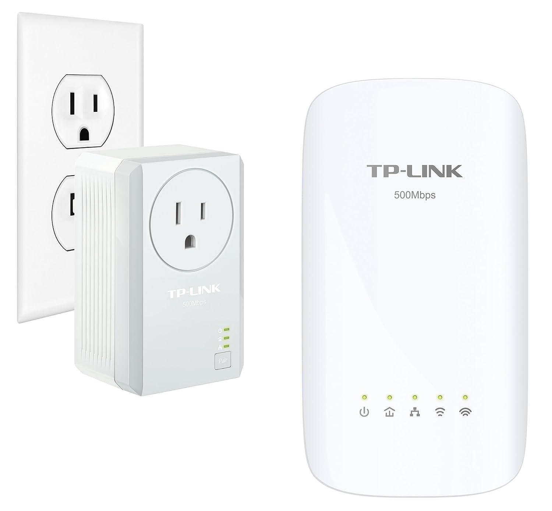 TP-Link AV500 AC750 Wi-Fi Range Extender, Powerline Edition (TL-WPA4530 KIT)