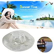 Evaporative Cooling Hat Beige One Size UV Protection Father/'s Day Gift Ice Hat