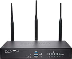 Dell Sonicwall 01-SSC-0431 TZ500 Wireless-AC Security Appliance 8 Ports 10MB/100MB LAN, Gige 802.11 B/A/G/n/AC
