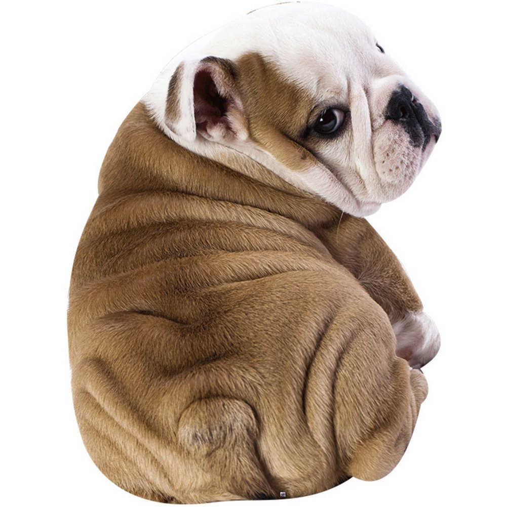 3D Animal Prints Blanket Bedding Dog Shaped Summer Quilt Bulldog Comforter Washable Light Quilt by Getime (Image #1)