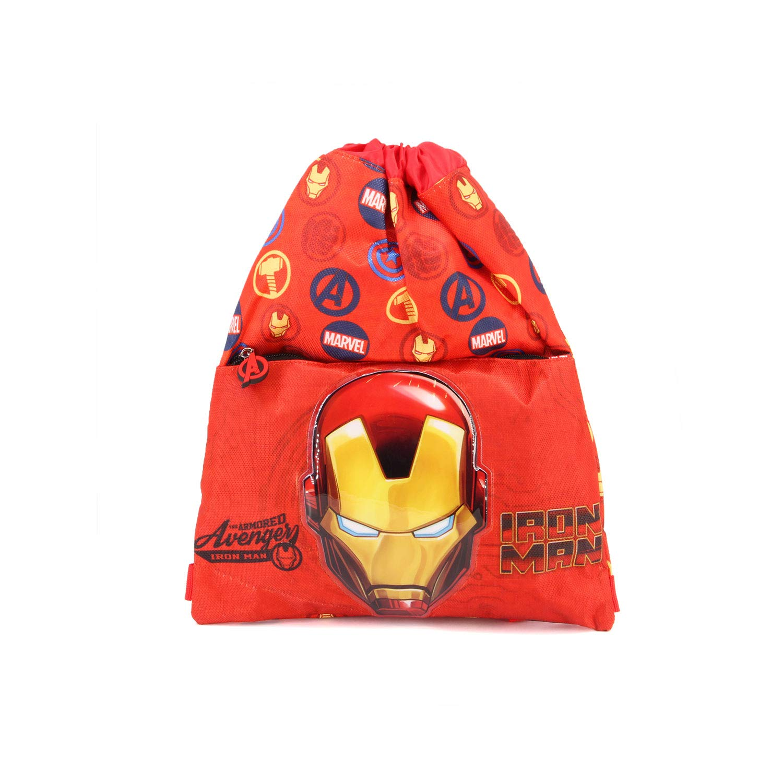 Red Karactermania Iron Man Armour-Strap Turnbeutel Bolsa de Cuerdas para el Gimnasio 41 Centimeters Rojo