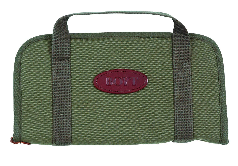 Boyt Harness Rectangular Handgun Case (OD Green, 13x7-Inch) by Boyt Harness