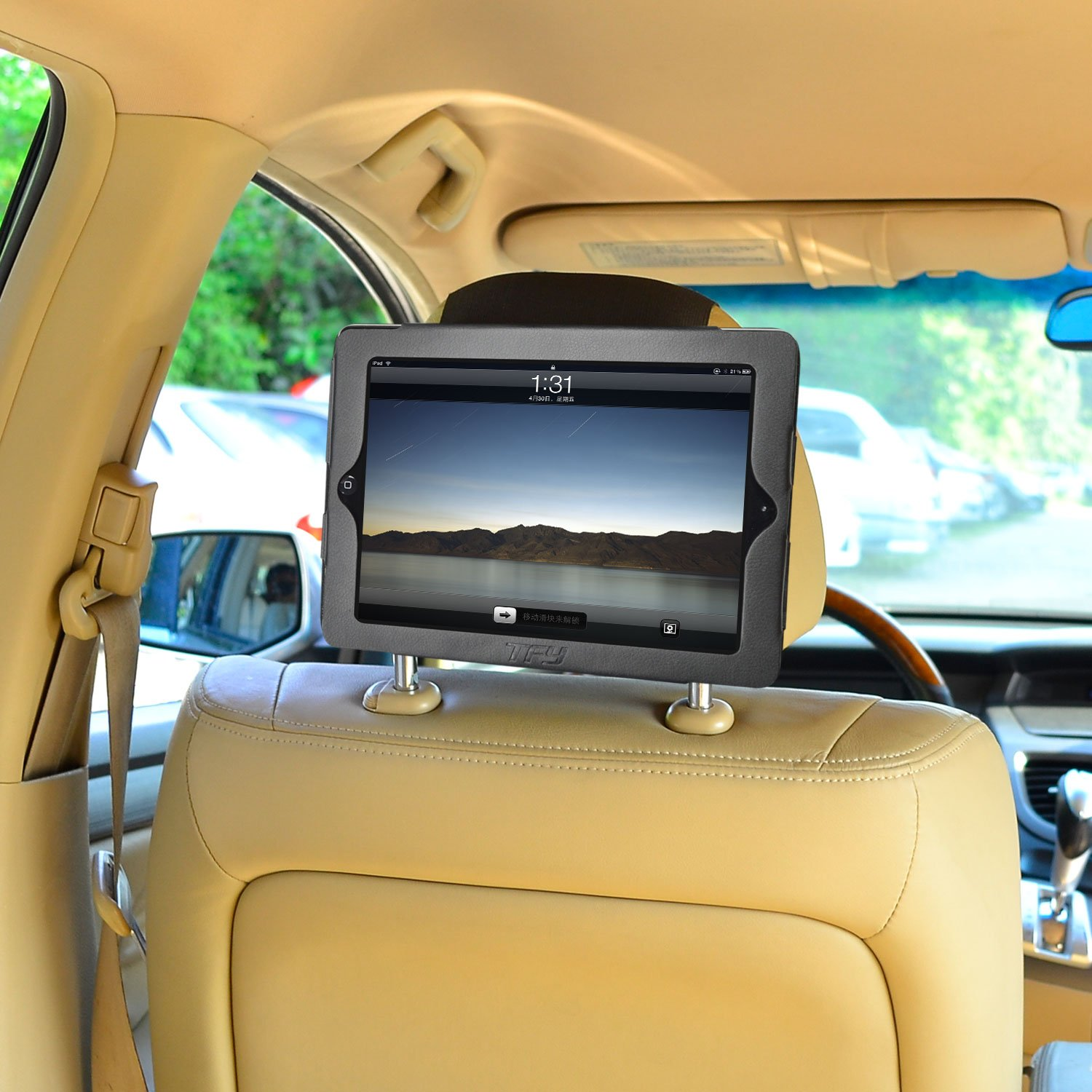 TFY iPad 4 / iPad 3 / iPad 2 Car Headrest Mount Holder