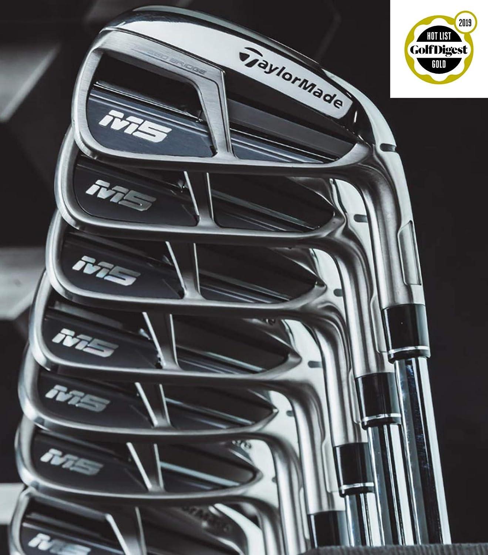 TaylorMade Golf M5 4アイアンセット 6 8 PW AW KBS C-Taper Steel レギュラーMRH