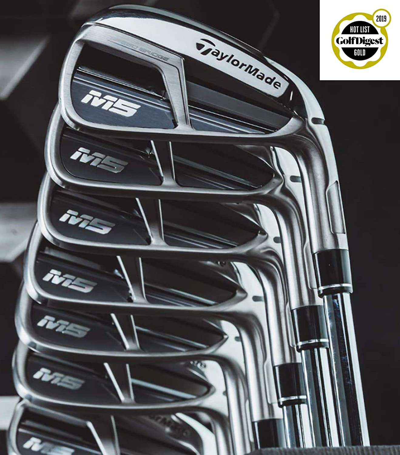 TaylorMade Golf 2019 M5 4 アイアンセット 7 9 PW SW XP 100 スチールスティフ MLH B07PXCD9J5