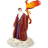 Enesco Wizard World of Harry Potter Dumbledore with Fawkes Figurine, 10 Inch, Multicolor