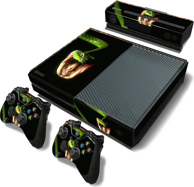 Vococal Juego de Pegatinas Protectoras para Xbox One con Sensor de Kinect y Mando a Distancia: Amazon.es: Electrónica