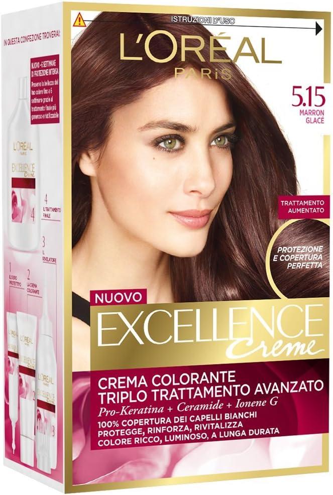 EXCELLENCE Crema color 5,15 marrón.: Amazon.es: Belleza