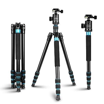 Amazon.com : Camera Tripod for Camera - Aluminum Tripod Monopod with