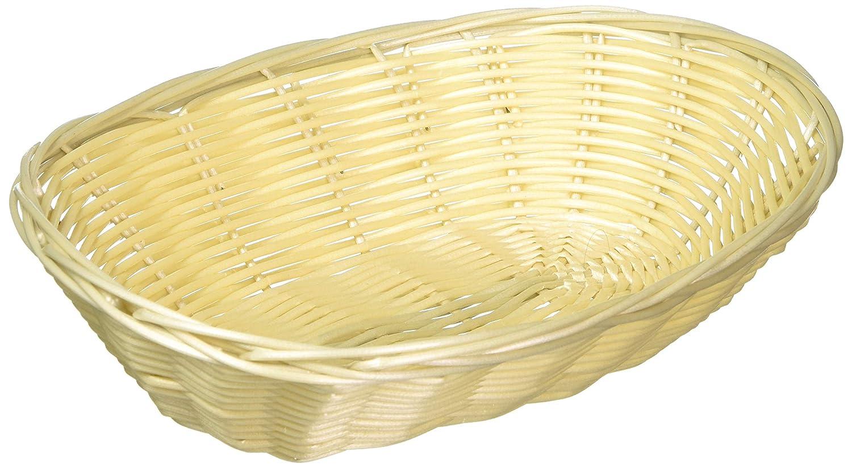 Excellant/é Oval Plastic Bread Container 9 1//4 X 7 X 2 1//4 9 1//4 X 7 X 2 1//4 Excellanté PLBB900