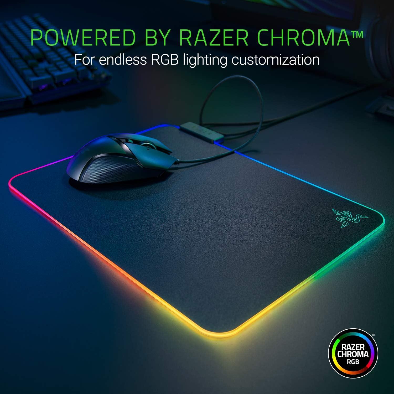 Razer Firefly V2 Micro-textured Surface Mouse Mat with Razer Chroma 3