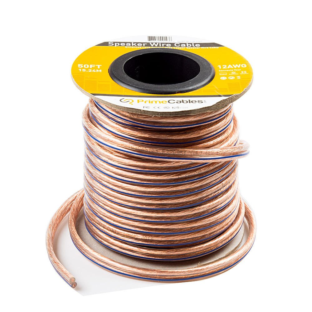 PrimeCables © 100ft Speaker Wire Enhanced Loud Oxygen-Free Copper ...