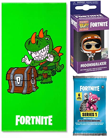 Amazon.com: Fortnite Shine Green Rex Character Bath & Beach ...