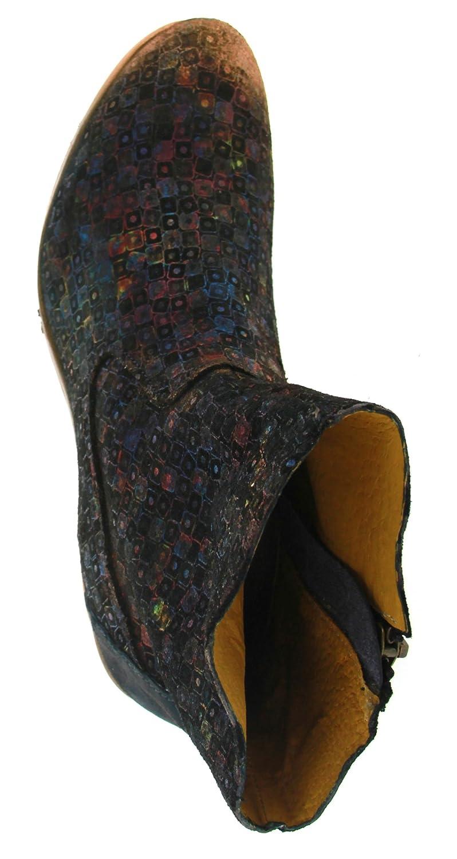 Papucei Damen Stiefel Stiefelette Stiefelette Stiefelette Blau Pixels (Mehrfarbig) MARUCA a28d2c