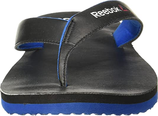 7d506312a8483a Reebok Men s Black Blue Sport Hawaii Thong Sandals - 11 UK India (45.5  EU)(12 US) (BD3878)  Buy Online at Low Prices in India - Amazon.in
