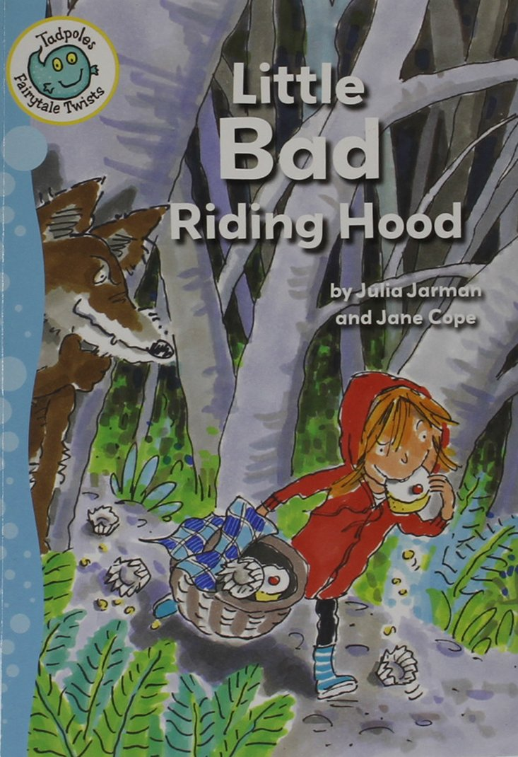 Download Little Bad Riding Hood (Tadpoles: Fairytale Twists) PDF