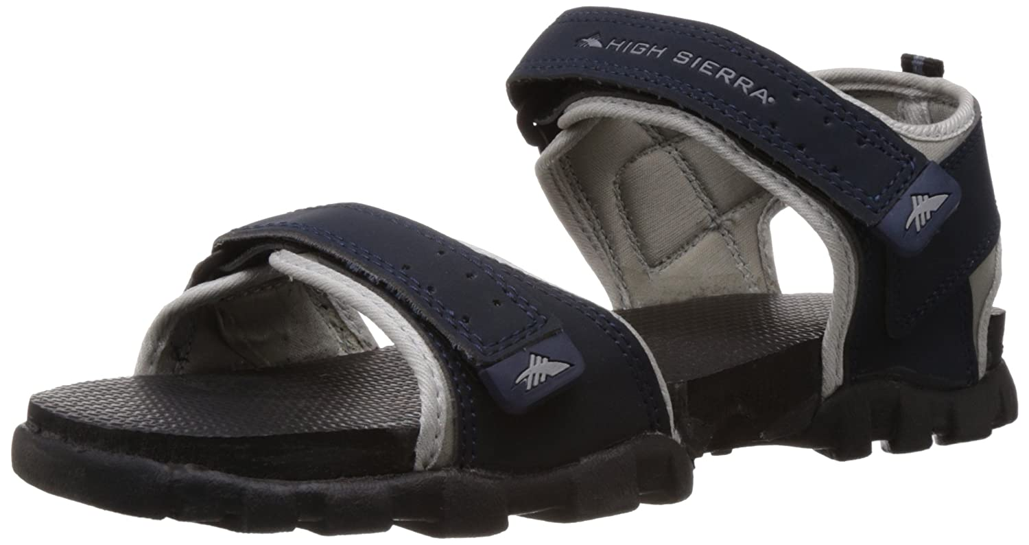 bb947b33b4245 High Sierra Men's Grey and Black Sandals and Floaters - 10 UK: Buy Online  at Low Prices in India - Amazon.in