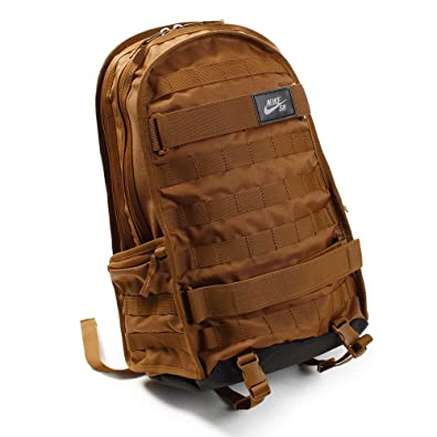 6d91e5a8 Amazon.com: Nike Nk Sb Rpm Bkpk - Solid, Men's Backpack, Brown (Ale ...