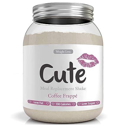 Cute Nutrition - Batido De Reemplazo De Comida - Café Frappe