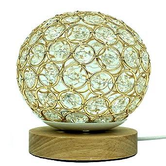 Lámpara de mesa de hilo LED control remoto USB Lámpara de ...