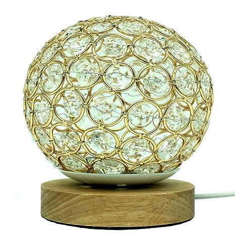 Lámpara de mesa de hilo LED control remoto USB 16 colores de bola ...