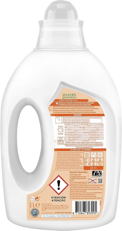 Seventh Generation Fresh Orange & Blossom - Detergente para Ropa ...