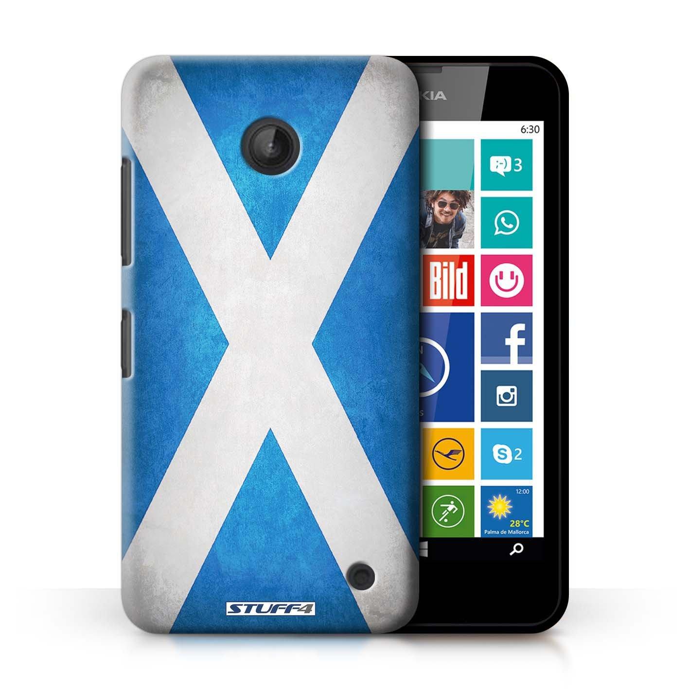 Carcasa/Funda STUFF4 dura para el Nokia Lumia 635 / serie ...