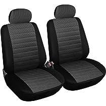 Sitzbezüge Sitzbezug Schonbezüge für Citroen DS3 Grau Modern MC-2 Komplettset