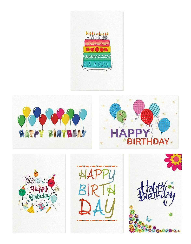 48 Happy Birthday Cards Bulk Assortment