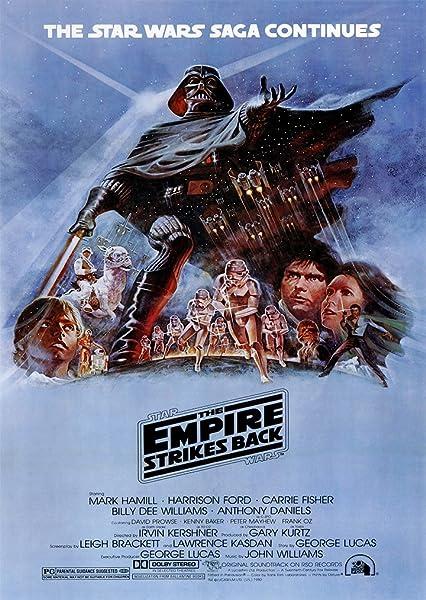 Star Wars El Imperio Contraataca película A4 cartel ...