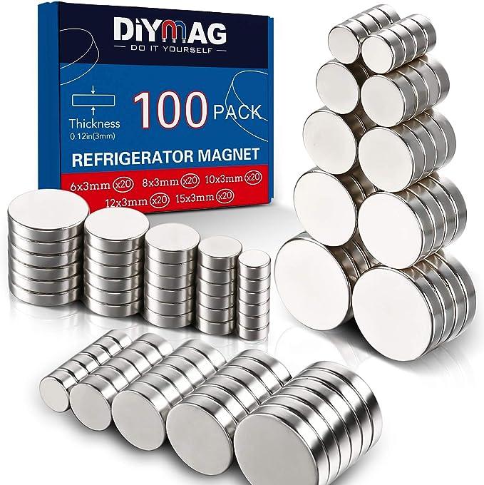 Gifts under 20 Minimalist Home Decor Concrete Magnets Set of 3 Magnets. Modern Half Moon Fridge Magnets Modern Office Magnets