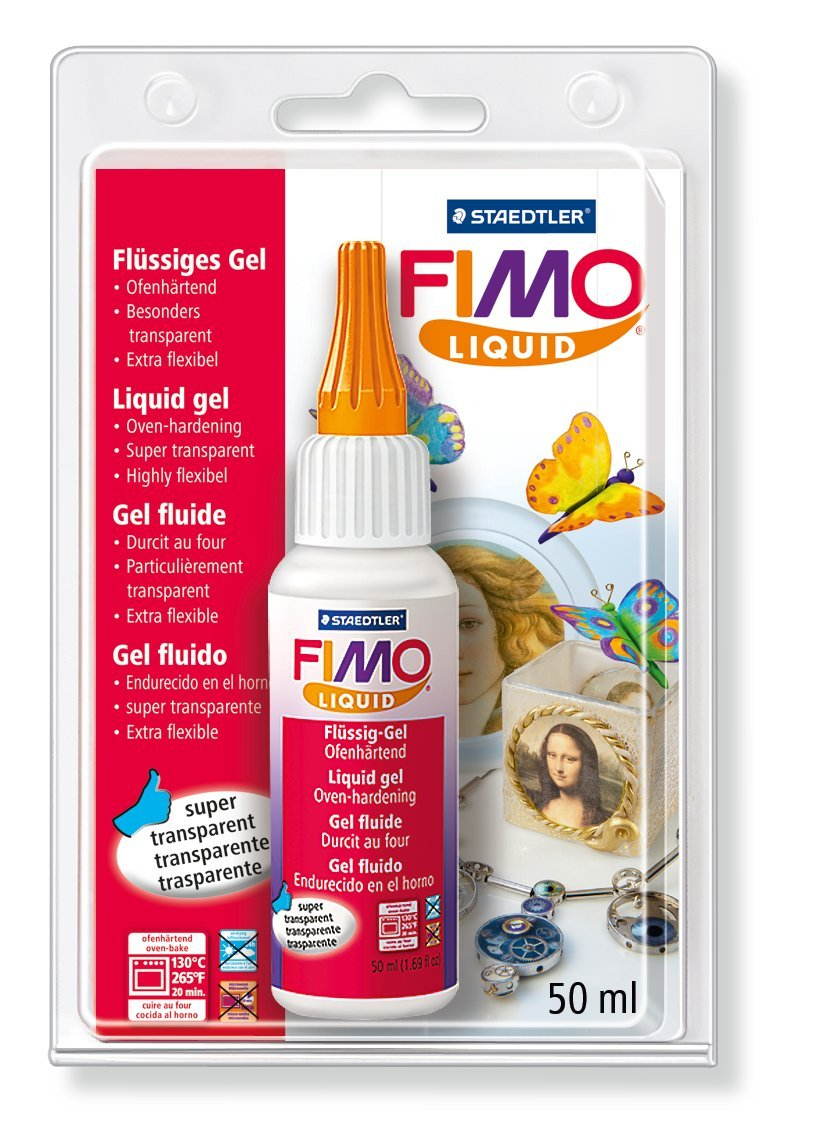 Staedtler - Fimo liquid - Flacon 200 ml Gel Fluide Transparent - Sous Blister 8051-00 BKST