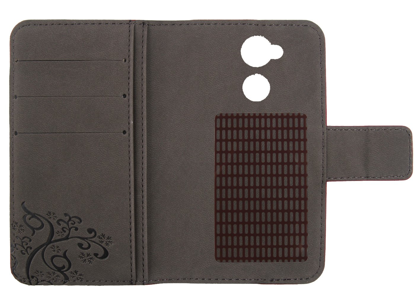 Amazon.com: Gukas Design Genuine Leather Case for Doogee Y6 ...