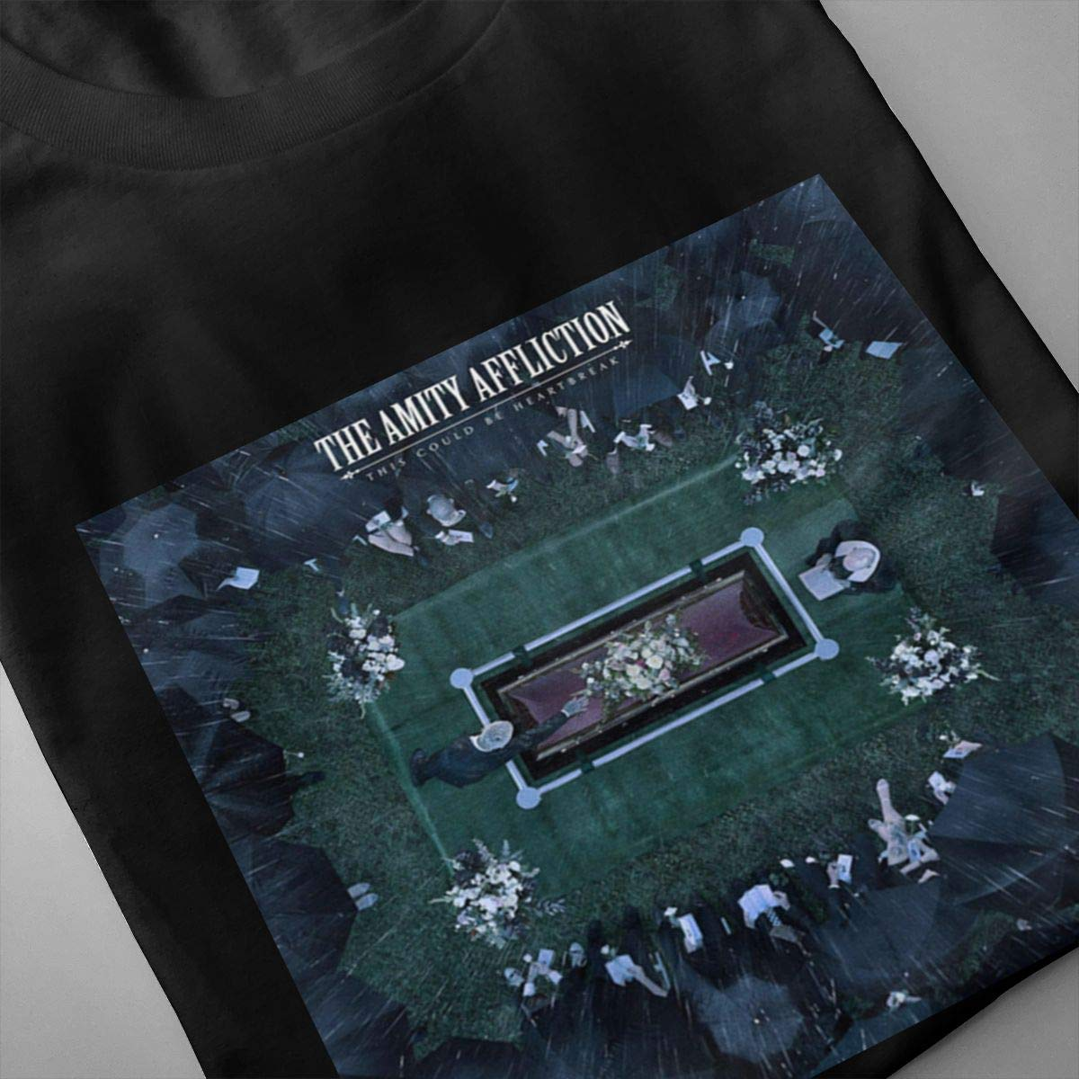 Smooffly Mens The Amity Affliction This Could Be Heartbreak Fashion Crew Neck Short Sleeves T Shirts