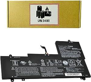 CQCQ L15M4PC2 L15L4PC2 Compatible Battery Replacement for Lenovo Ideapad Yoga 710-14ISK Yoga 710-11 710-15IKB 710-15ISK Series Yoga 710 14IKB 14ISK 15IKB 15ISK Laptop (7.64V 53Wh)