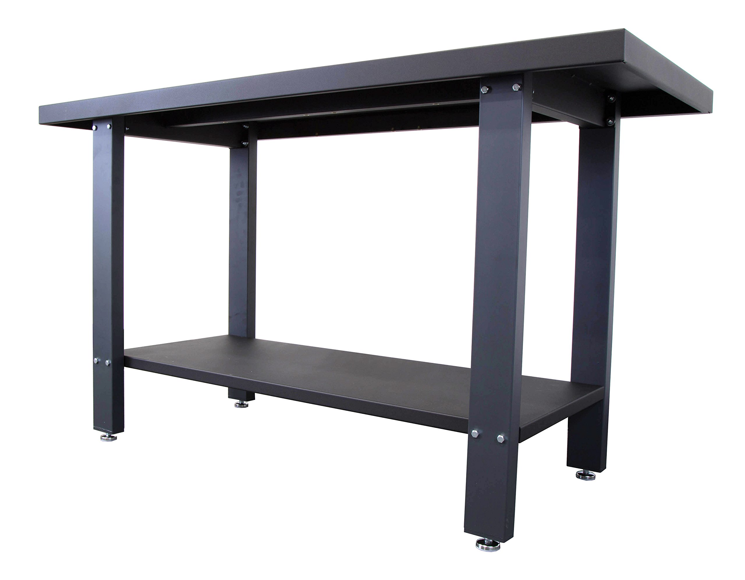 WEN 31165 Industrial Strength Steel Work Bench, 59''