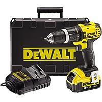 DeWALT DCD785M1 drill Sin llave Negro, Amarillo