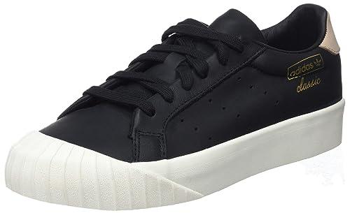 best authentic 83cc8 3fbdd Adidas Everyn W, Zapatillas de Deporte para Mujer, Negro Negbas Percen 000,  37 1 3 EU  Amazon.es  Zapatos y complementos