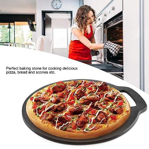 Piedra para Hornear Pizza de Hierro Fundido Molde de Horno para ...