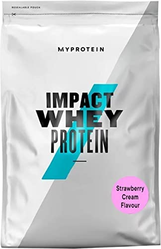 MyProtein Impact Whey Protein Strawberry 2.2 lbs