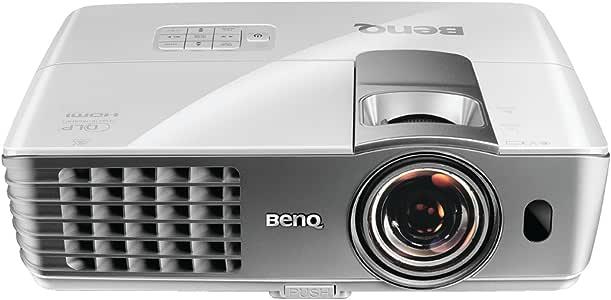 BenQ W1080ST 1080p 3D Short Throw DLP Home Theater Projector (White)