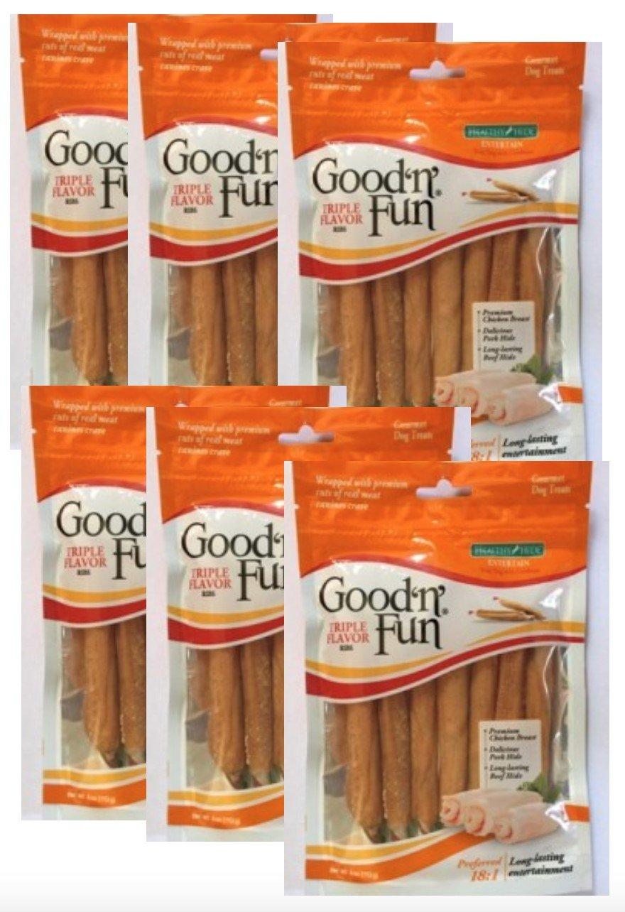Good N Fun Triple Flavor Ribs 6-4oz packages (24oz)