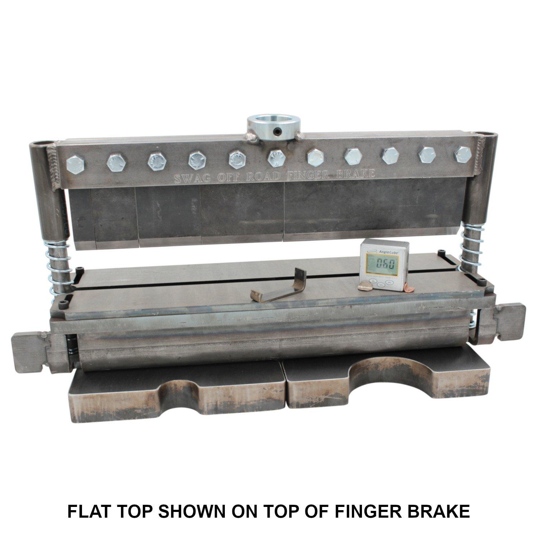 SWAG Off Road FLAT TOP Adjustable Bottom V Die For 20 TON Press Brake DIY Builder Kit