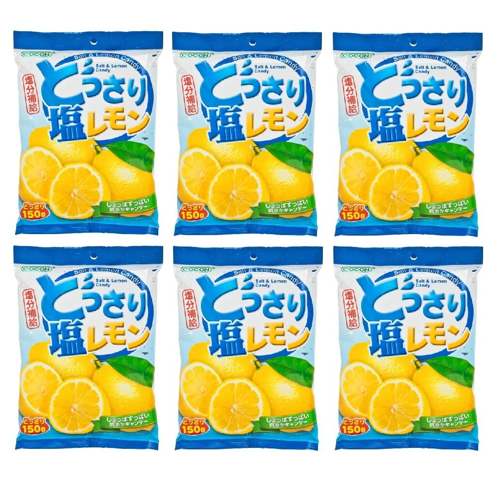 Lemon and Salt Candy 150g (628MART) (6 Packs)